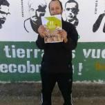 Suport del Portàveu del SAT ( Sindicato Andaluz de Trabajadores ) amb els Bastoners Solidaris en suport als Bastoners Solidaris. Nèstor.