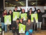 Solidaritat amb els Bastoners Solidaris del SEPC MUNDET de la Universitat de Barcelona.