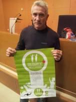 Suport de Diego Cañamero del SAT ( Sindicat Andadaluz de Trabajadores )