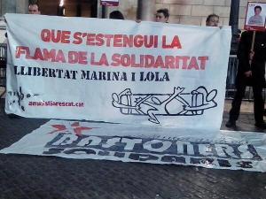 Marxa de Torxes a Barcelona