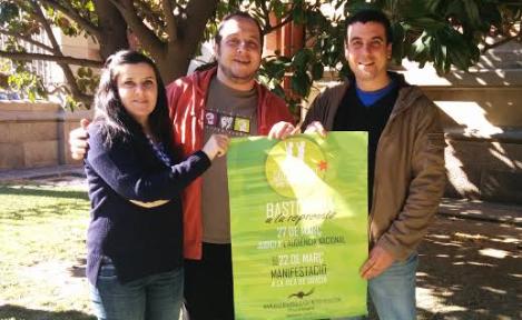 Solidaritat dels Diputats de la CUP AE amb els Bastoners Solidaris