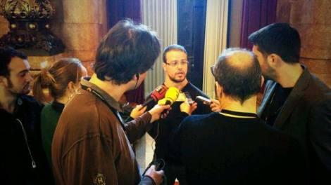 El Grup de Suport visita al Parlament de Catalunya