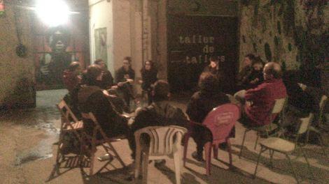 Acte Solidari al CSO ASTILLA ( Hospitalet de Llobregat )